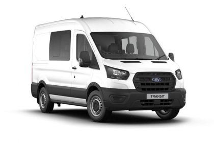 Ford Transit Crew Van 350 L4 RWD 2.0 EcoBlue RWD 130PS Trend Crew Van High Roof Manual [Start Stop] [DCiV]