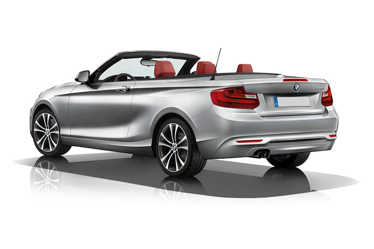 BMW 2 Series 218 Convertible 1.5 i 136PS M Sport 2Dr Manual [Start Stop] back view