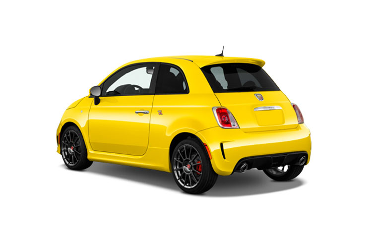 Abarth 595 Hatch 3Dr 1.4 T-Jet 180PS Competizione 70th 3Dr Manual back view