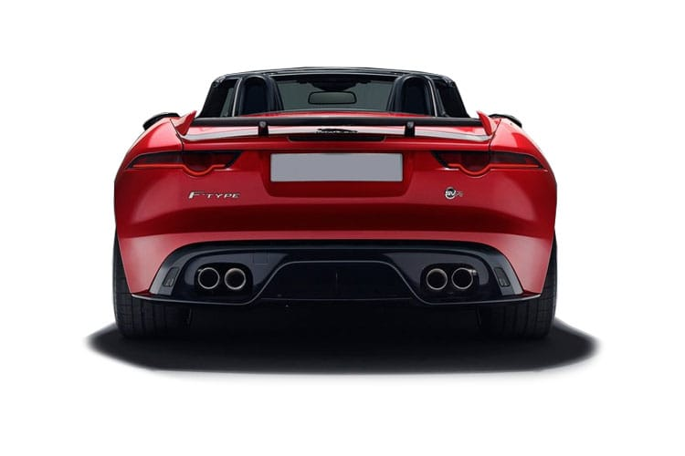 Jaguar F-TYPE Convertible 2.0 i 300PS  2Dr Auto [Start Stop] back view