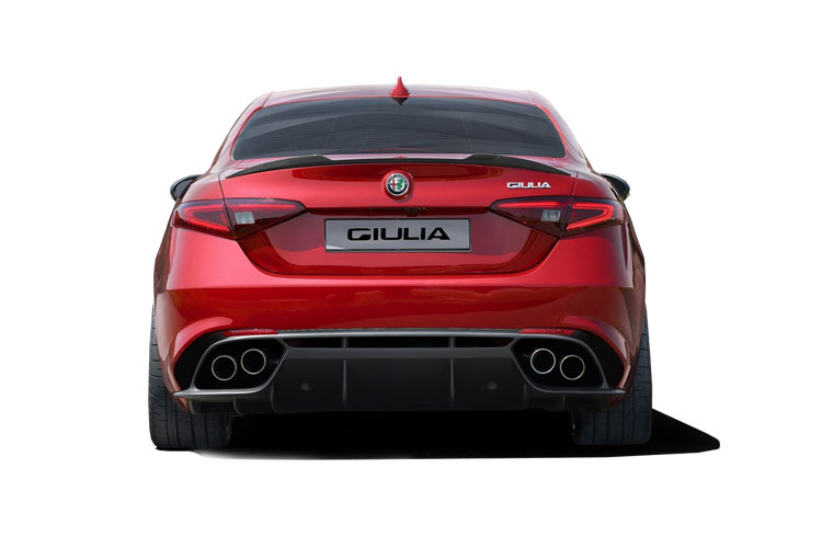 Alfa Romeo Giulia Saloon 2.2 TD 180PS Super 4Dr Auto [Start Stop] back view