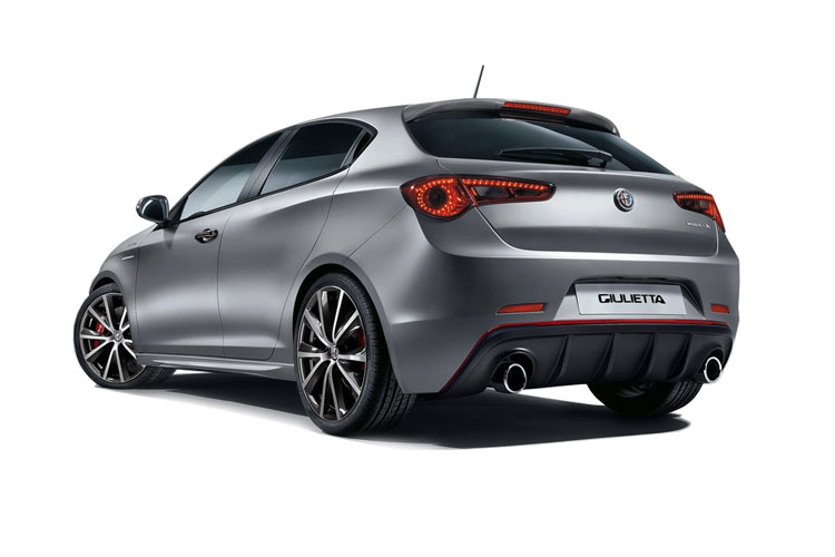 Alfa Romeo Giulietta Hatch 5Dr 1.4 TB 120PS Speciale 5Dr Manual [Start Stop] back view