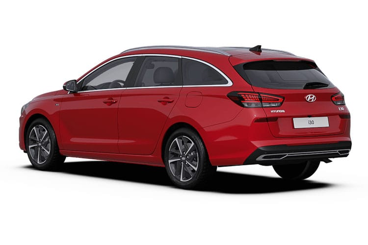 Hyundai i30 Tourer 1.0 T-GDi MHEV 120PS Premium 5Dr Manual [Start Stop] back view