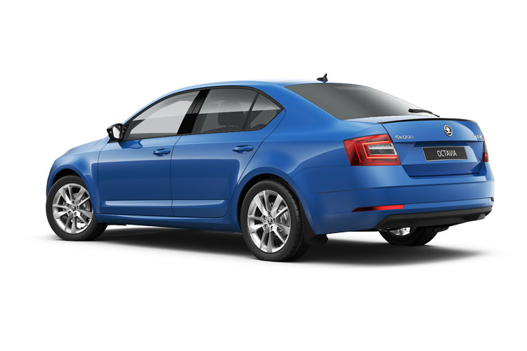 Skoda Octavia Hatch 5Dr 1.0 TSi 110PS SE Technology 5Dr Manual [Start Stop] back view