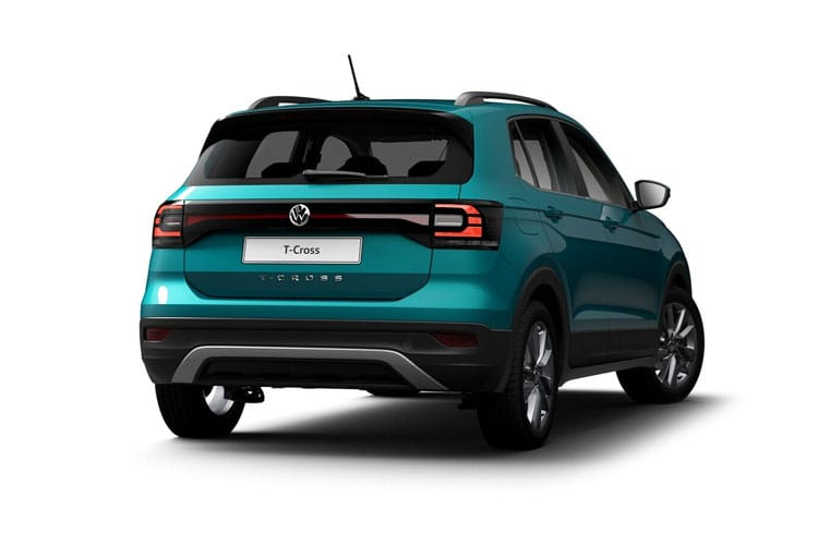 Volkswagen T-Cross SUV 1.0 TSI 115PS SEL 5Dr DSG [Start Stop] back view