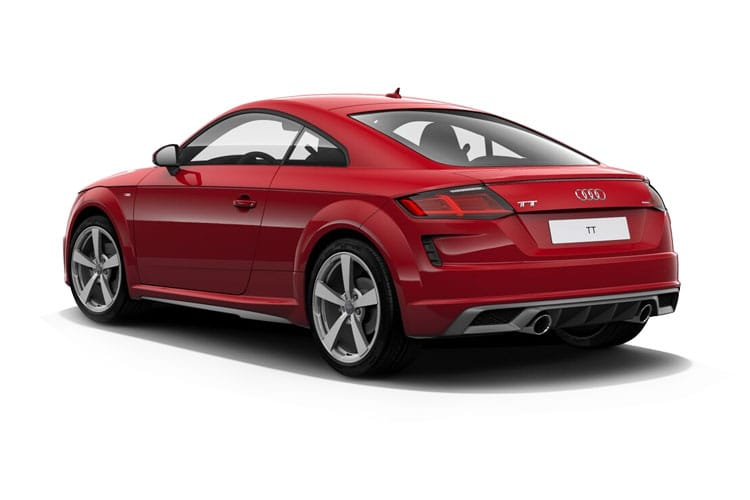 Audi TT 45 Coupe 2.0 TFSI 245PS Sport 3Dr S Tronic [Start Stop] [Technology] back view