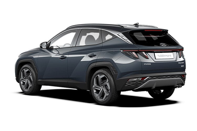 Hyundai Tucson SUV 4wd 1.6 T-GDi MHEV 180PS Ultimate 5Dr DCT [Start Stop] back view