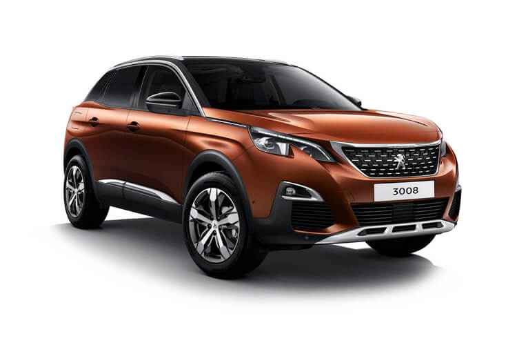 Peugeot 3008 SUV HYBRID 1.6 PHEV 13.2kWh 225PS Allure 5Dr e-EAT [Start Stop] front view