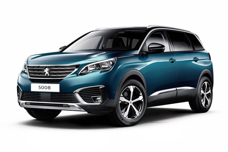 Peugeot 5008 SUV 1.5 BlueHDi 130PS GT 5Dr EAT8 [Start Stop] front view