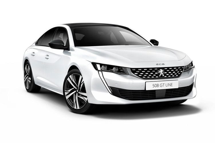 Peugeot 508 Fastback HYBRID 1.6 PHEV 11.8kWh 225PS Allure 5Dr e-EAT [Start Stop] front view