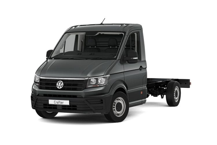 Volkswagen Crafter CR35LWB RWD 2.0 TDI RWD 140PS Startline Chassis Cab Manual [Start Stop] front view