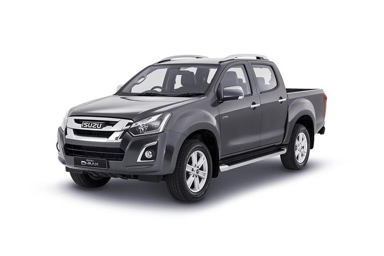Isuzu D-MAX Pick Up Double Cab 4wd 1.9 TD 4WD 164PS Utility Pickup Double Cab Manual [Start Stop] front view