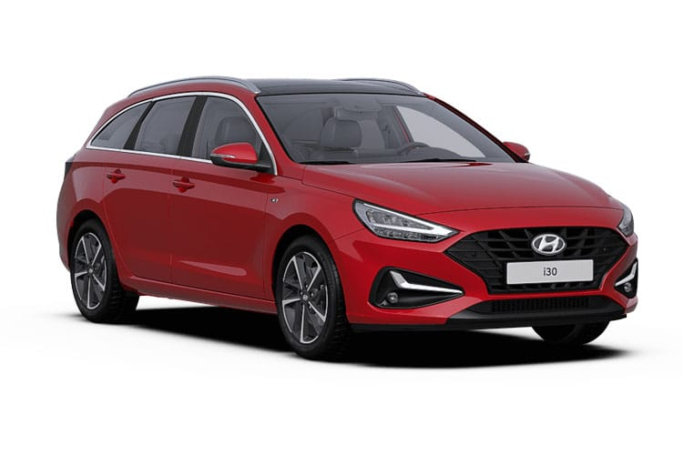 Hyundai i30 Tourer 1.0 T-GDi MHEV 120PS Premium 5Dr Manual [Start Stop] front view