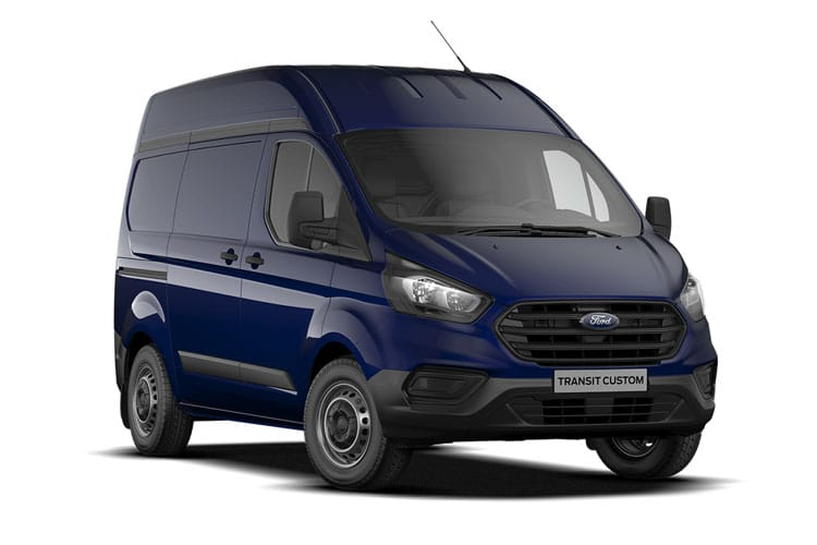 Ford Transit Custom 340 L2 2.0 EcoBlue FWD 170PS Trend Van High Roof Manual [Start Stop] front view