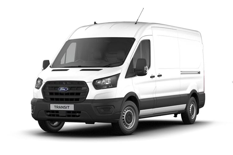 Ford Transit 290 L2 2.0 EcoBlue FWD 105PS Leader Van Medium Roof Manual [Start Stop] front view