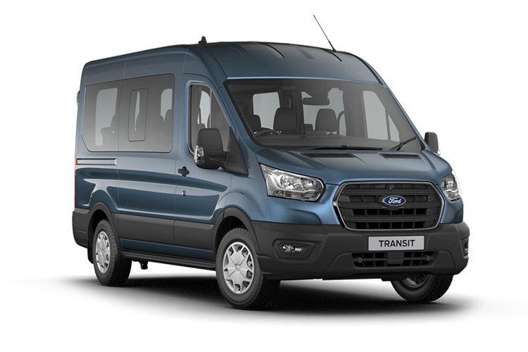 Ford Transit 15-17 Seat 410 L3 Minibus RWD 2.0 EcoBlue RWD 170PS Limited MiniBus High Roof Auto [Start Stop] [15Seat] front view