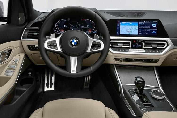 BMW 3 Series 318 Touring 2.0 d MHT 150PS M Sport 5Dr Auto [Start Stop] [Tech Pro] inside view