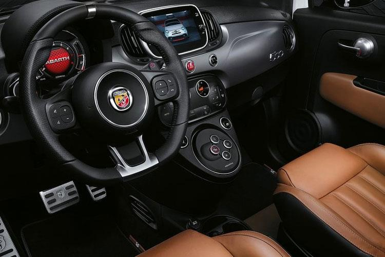 Abarth 595 Hatch 3Dr 1.4 T-Jet 180PS Competizione 70th 3Dr Manual inside view