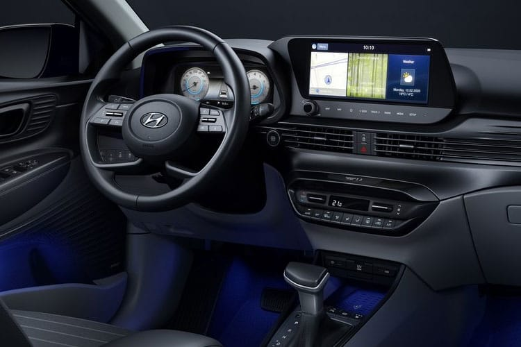Hyundai i20 Hatch 5Dr 1.0 T-GDi MHEV 100PS Ultimate 5Dr DCT [Start Stop] inside view