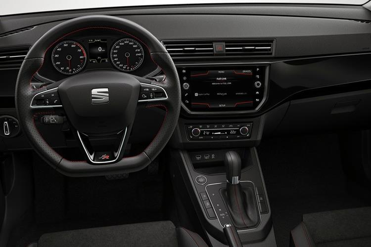 SEAT Ibiza Hatch 5Dr 1.0 TSI 95PS SE Technology 5Dr Manual [Start Stop] inside view