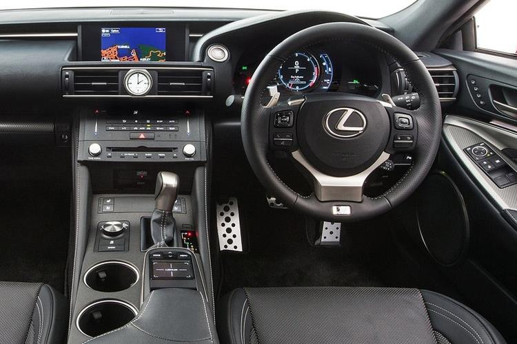 Lexus RC 300h Coupe 2.5 h 223PS F-Sport 2Dr E-CVT [Start Stop] [Takumi] inside view