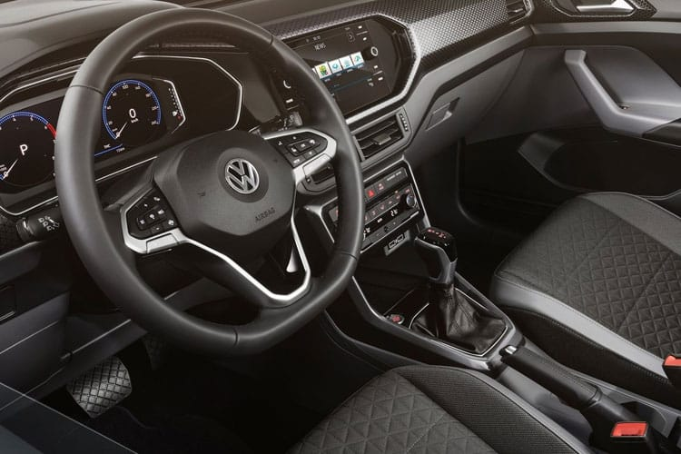 Volkswagen T-Cross SUV 1.0 TSI 115PS SEL 5Dr DSG [Start Stop] inside view