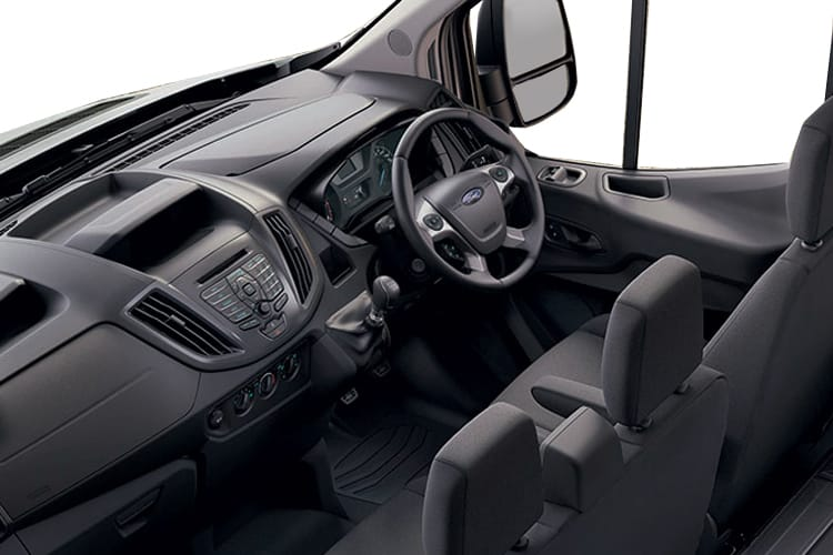 Ford Transit 350 L3 2.0 EcoBlue FWD 170PS Leader Tipper Double Cab Manual [Start Stop] [3Way 1Stop] inside view