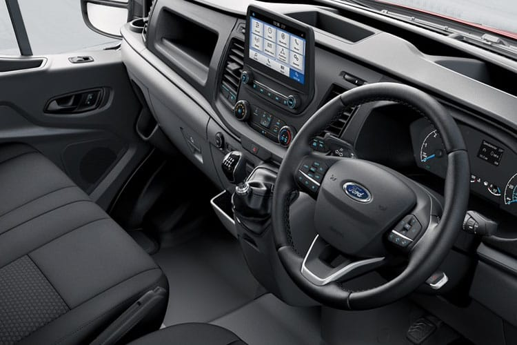 Ford Transit 290 L2 2.0 EcoBlue FWD 105PS Leader Van Medium Roof Manual [Start Stop] inside view